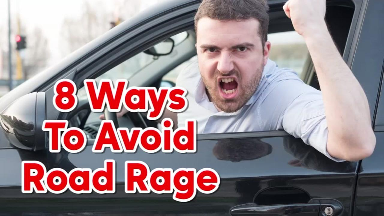 Eight ways to avoid road rage