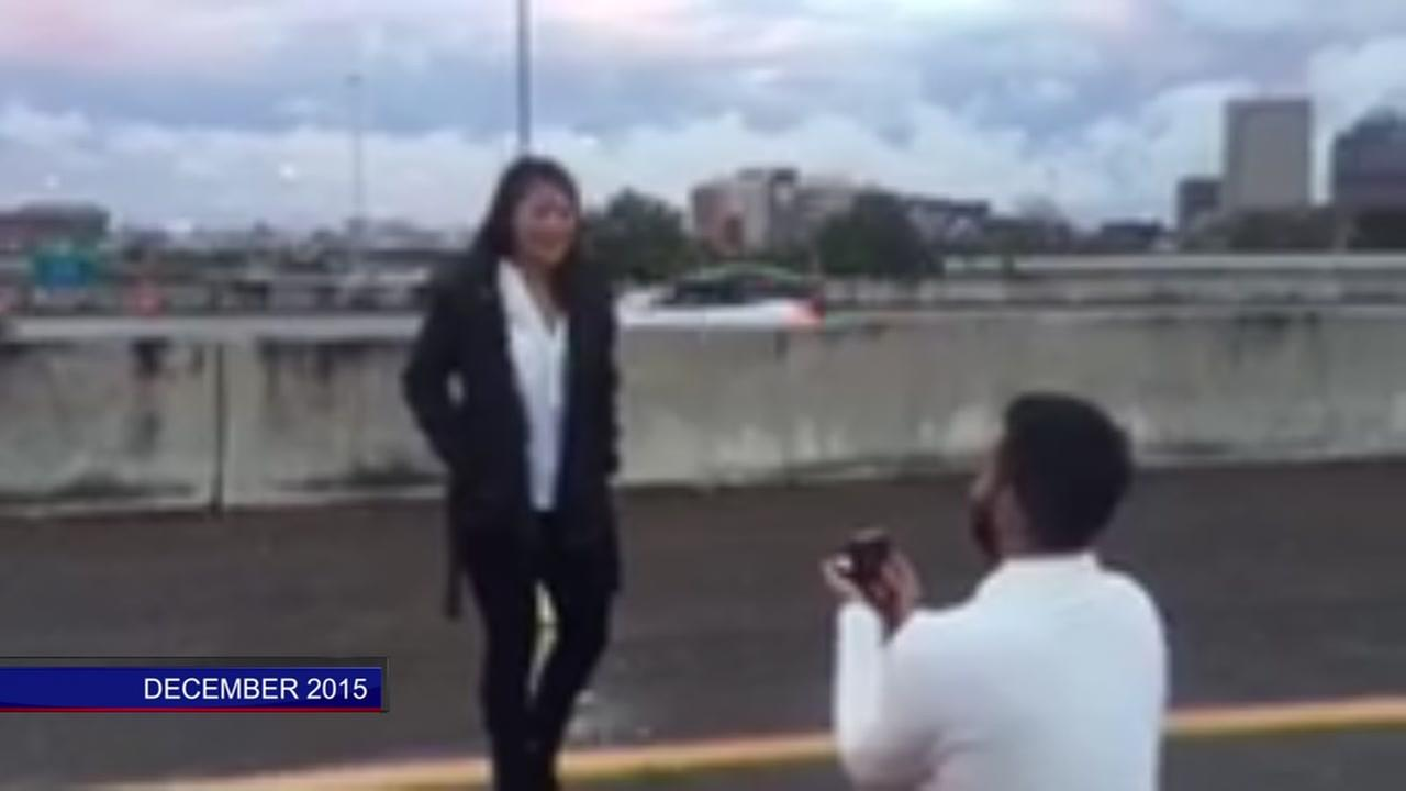 Case dismissed against man who stopped traffic to propose in 2015