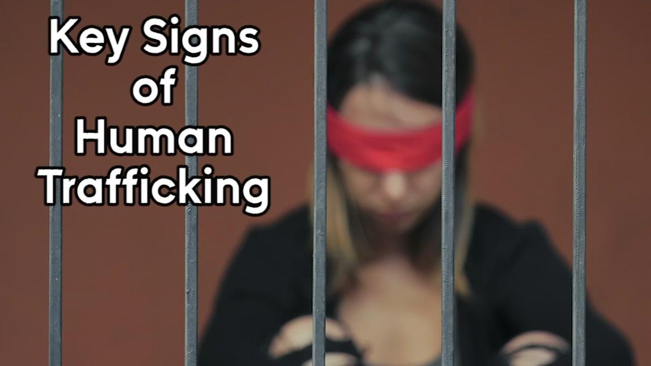 Warning signs of human trafficking