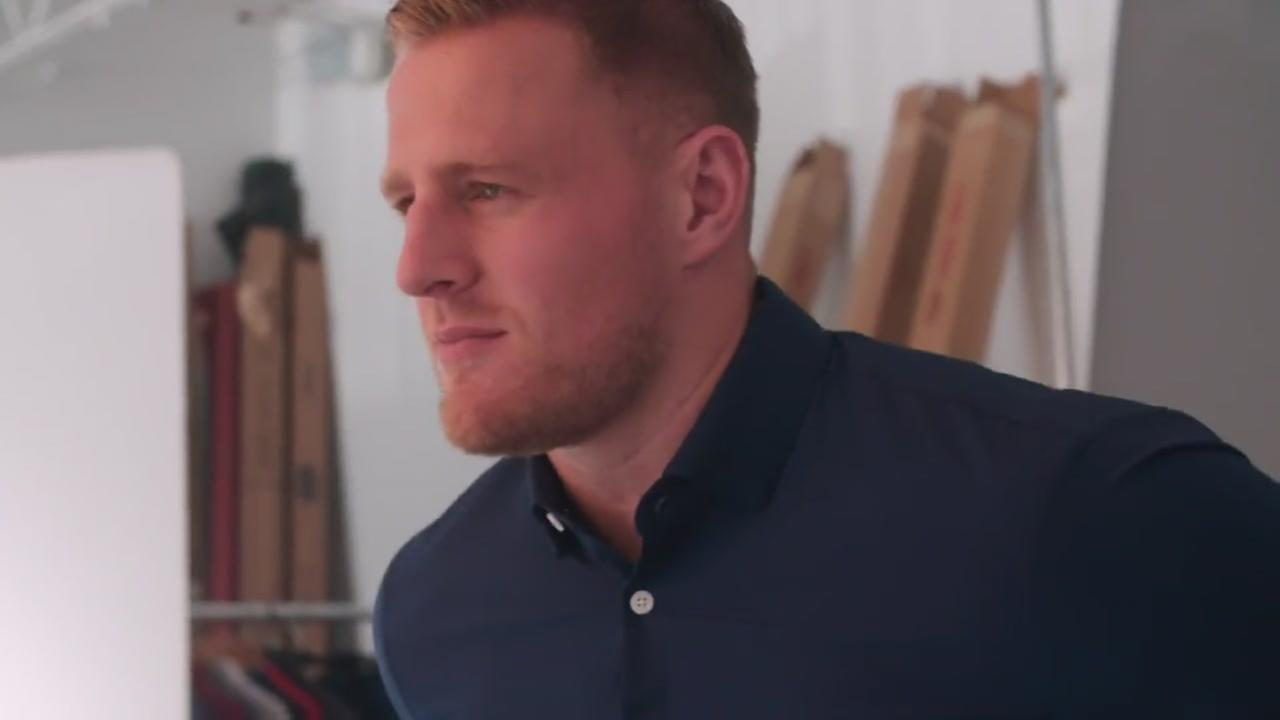 JJ Watt shirt collection available exclusively at Mizzen+Main