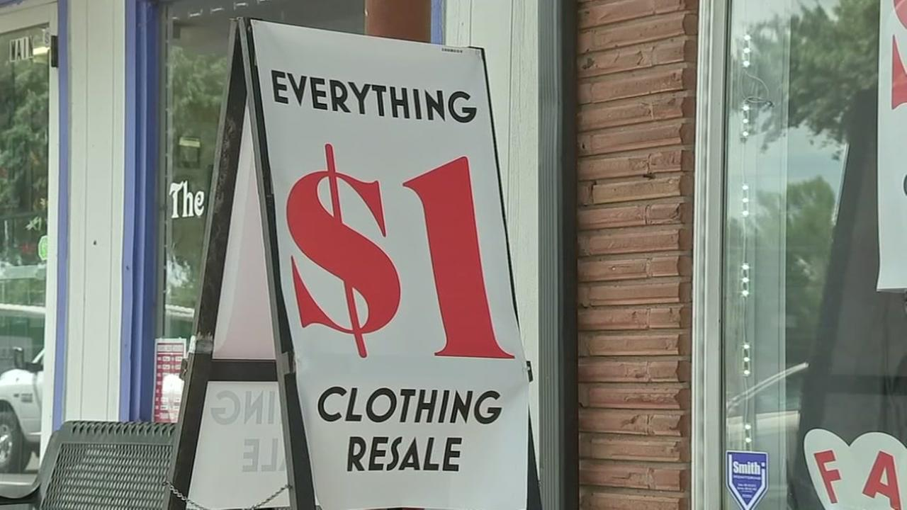 Tomball store sells refurbished clothing for just $1.