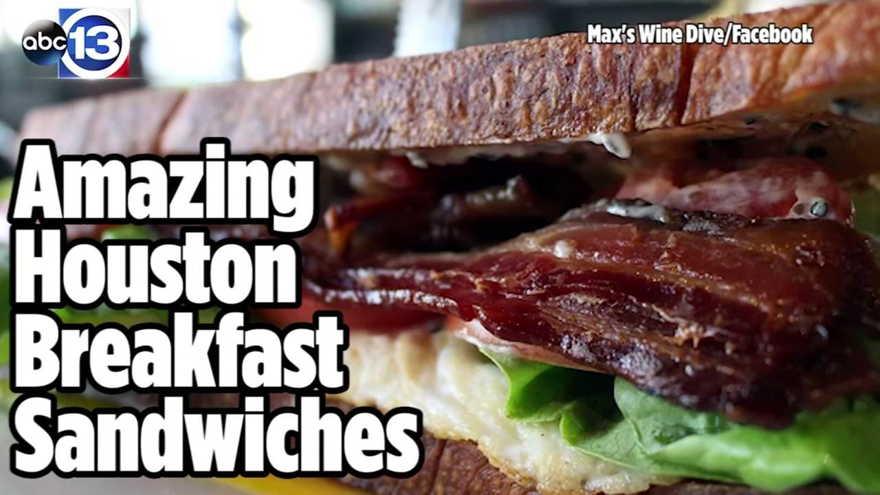 Amazing Houston breakfast sandwiches