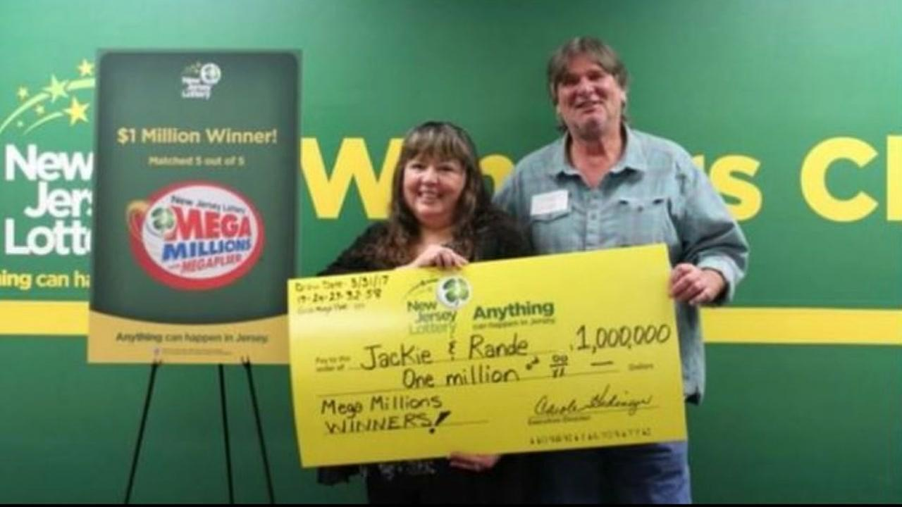 New Jersey couple to use one million dollar lottery prize to raise grandchildren
