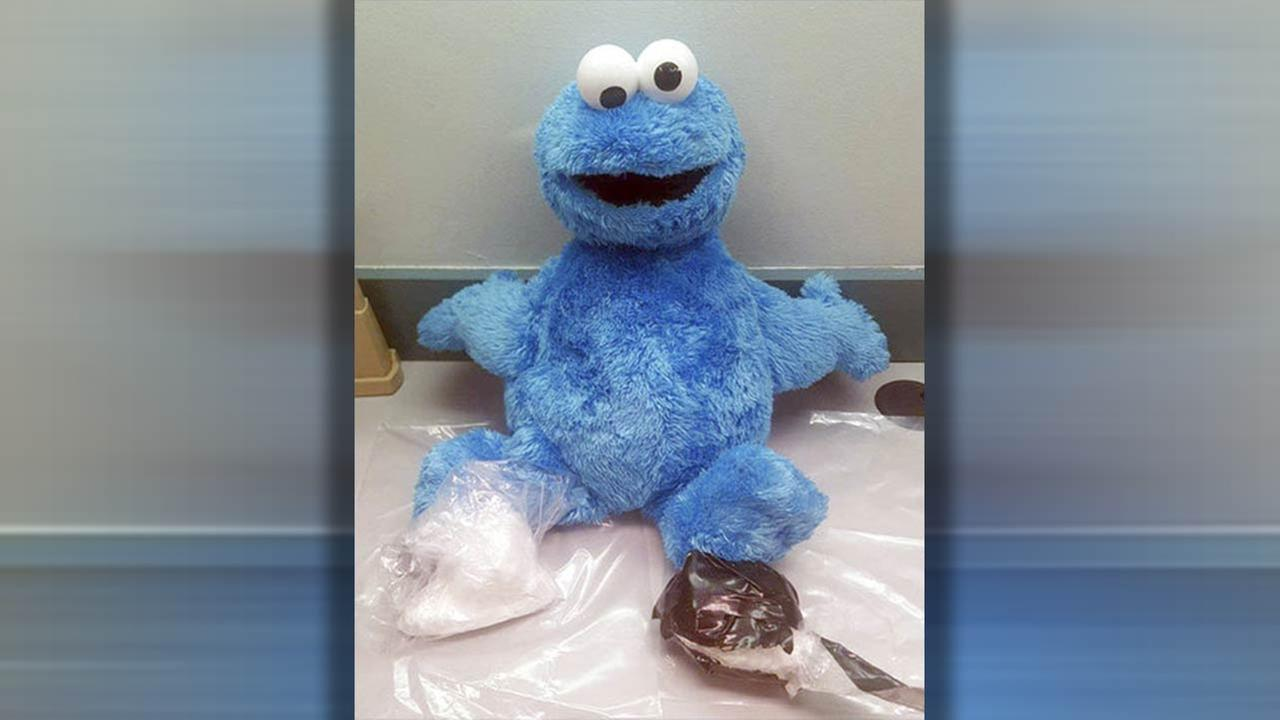 Me want cocaine? Drugs found inside Cookie Monster doll in Florida
