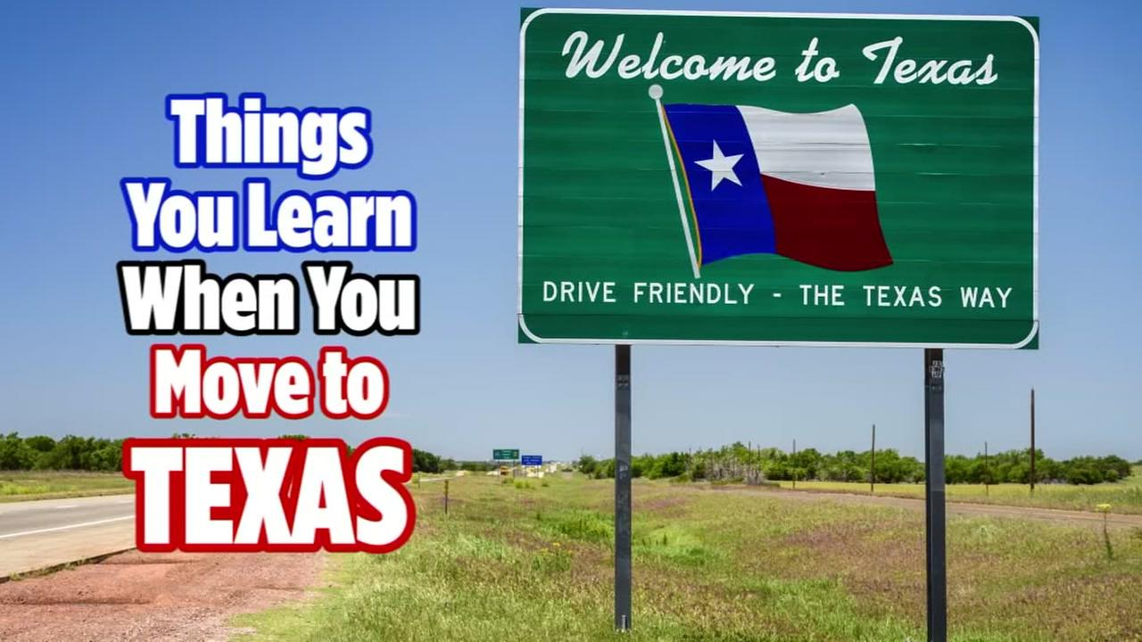 Things you learn when you move to Texas