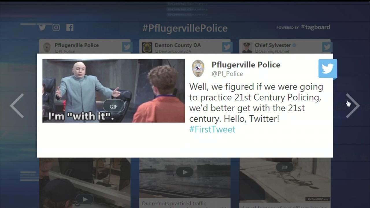 Pflugerville PD joins Twitter with Austin Powers GIF