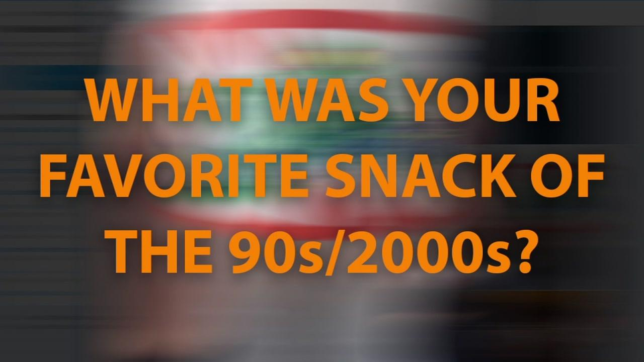 What was your favorite snack of the 90s/2000s?