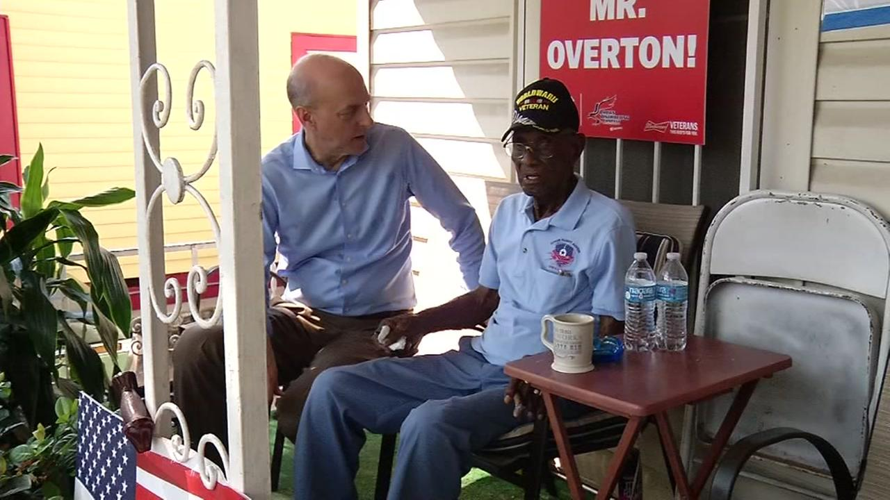 Oldest Austin WW2 vet gets free home repairs
