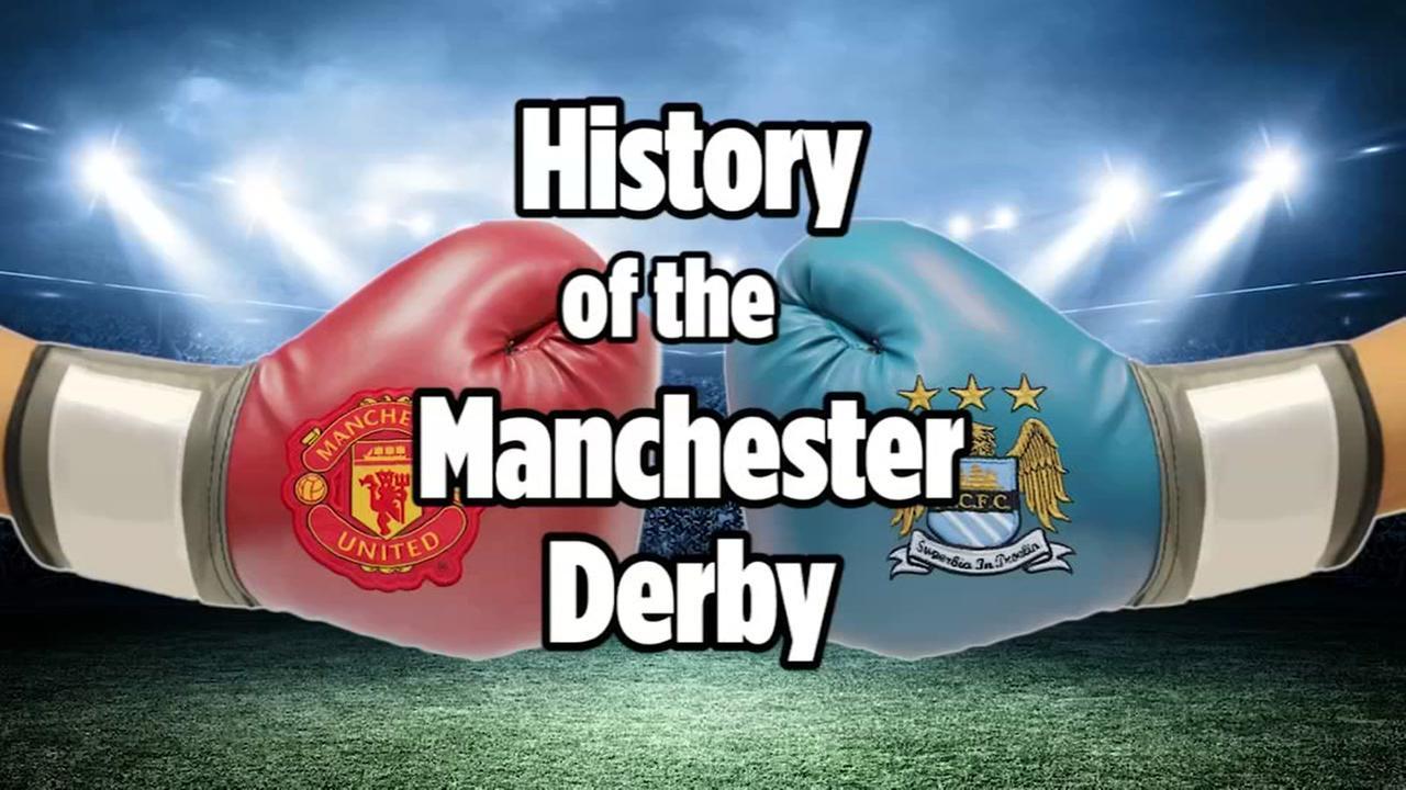 The long history behind the Manchester Derby