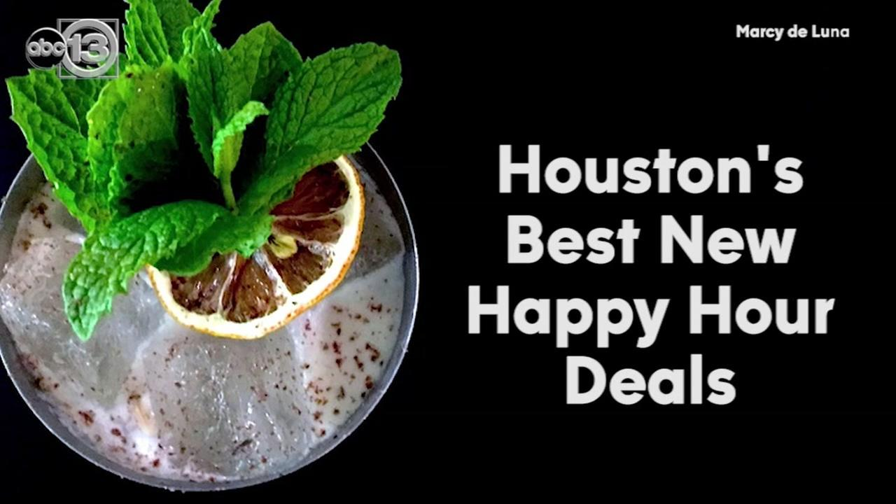 Best happy hour deals in Houston