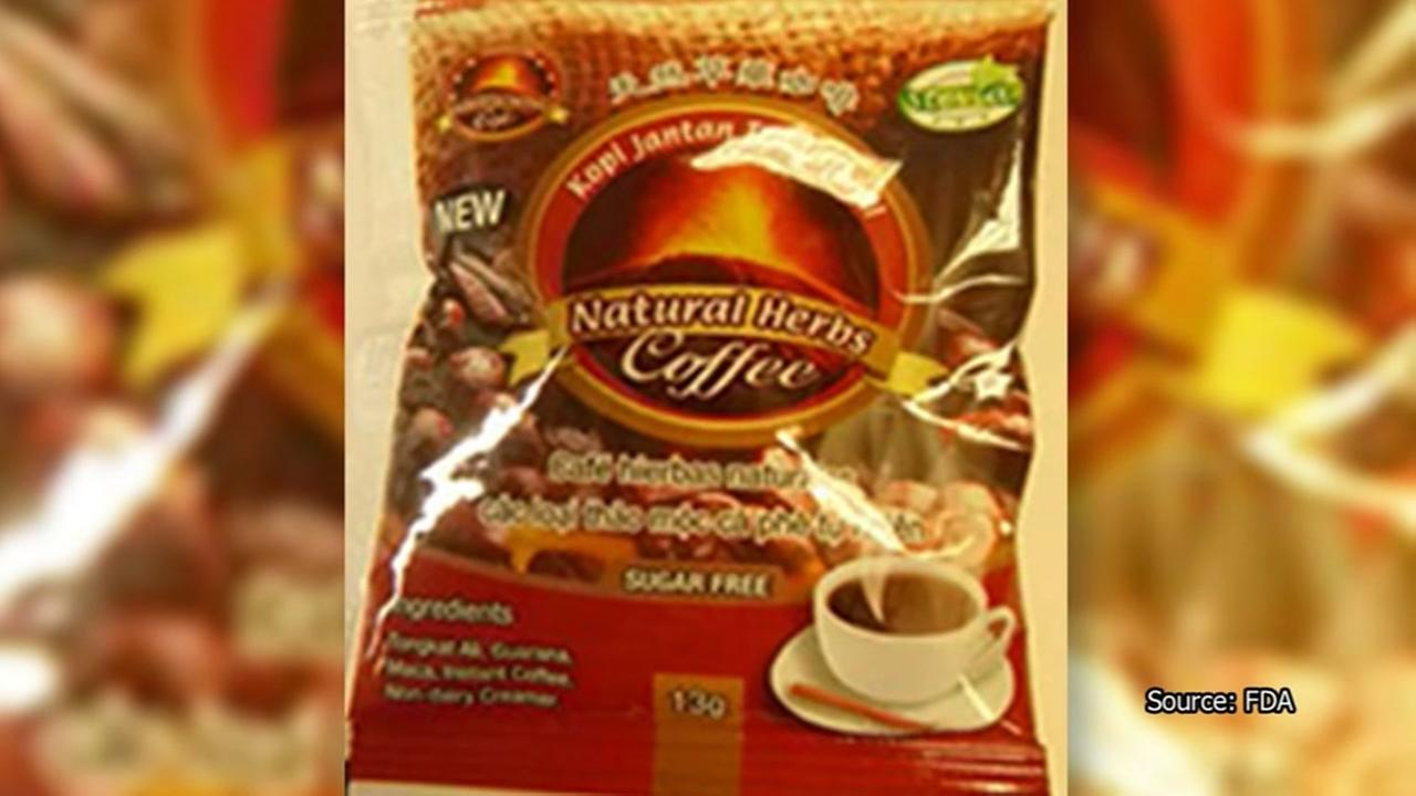 Coffee with Viagra-like substance recalled