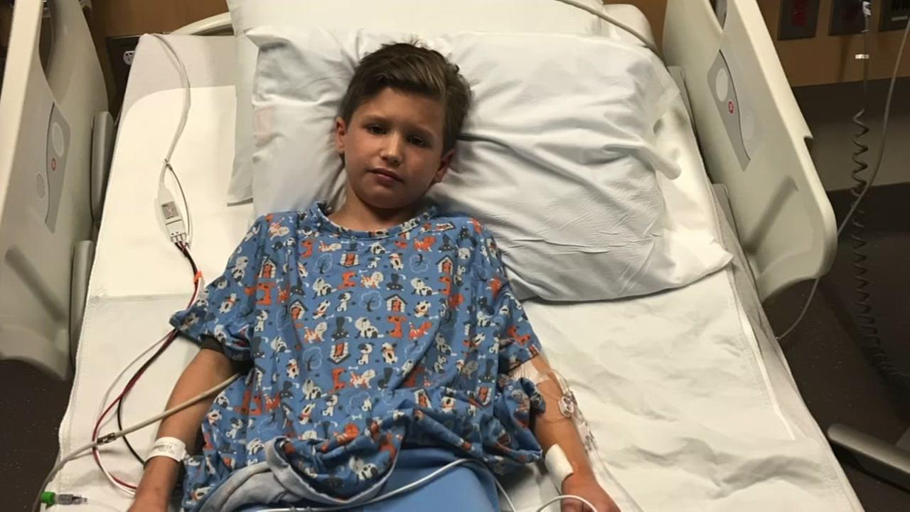 8-year-old Andrew Ross has been in fight for life
