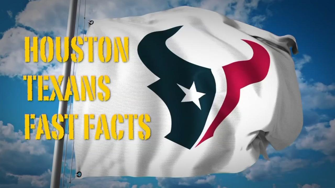 Here are fast facts on the Houston Texans stars