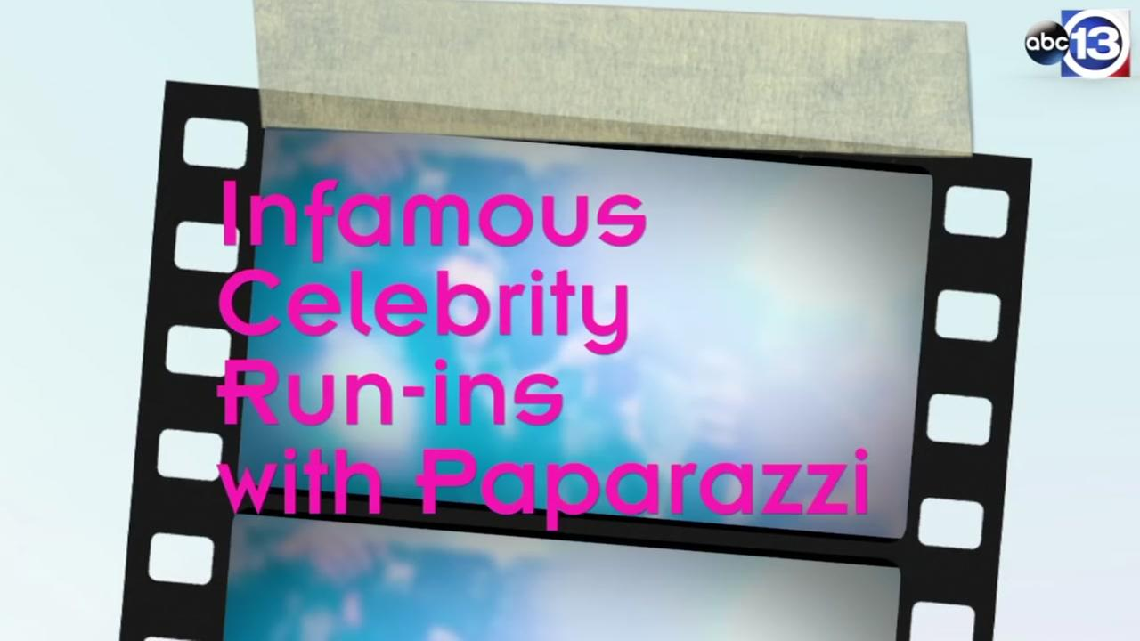 Infamous celebrity run-ins with paparazzi