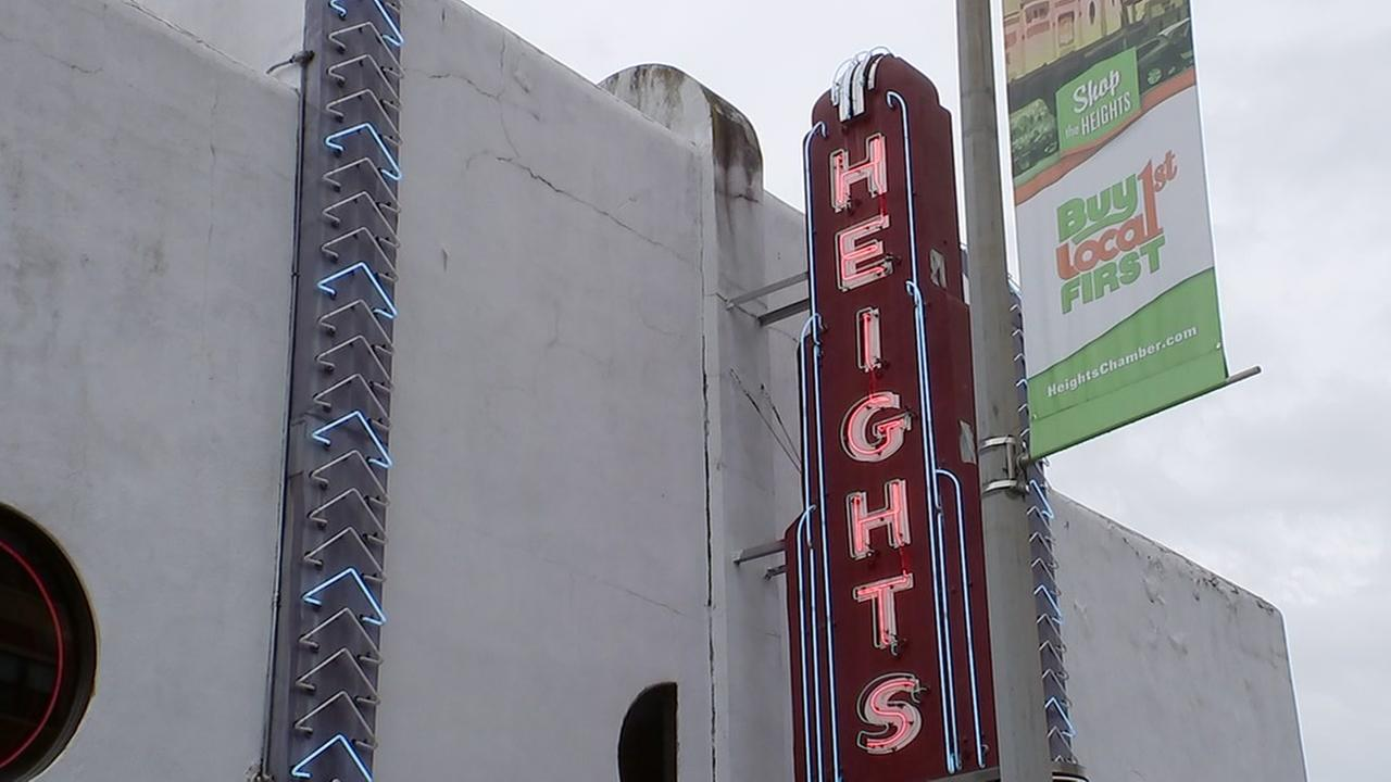 Heights Theater designated National Historic Place