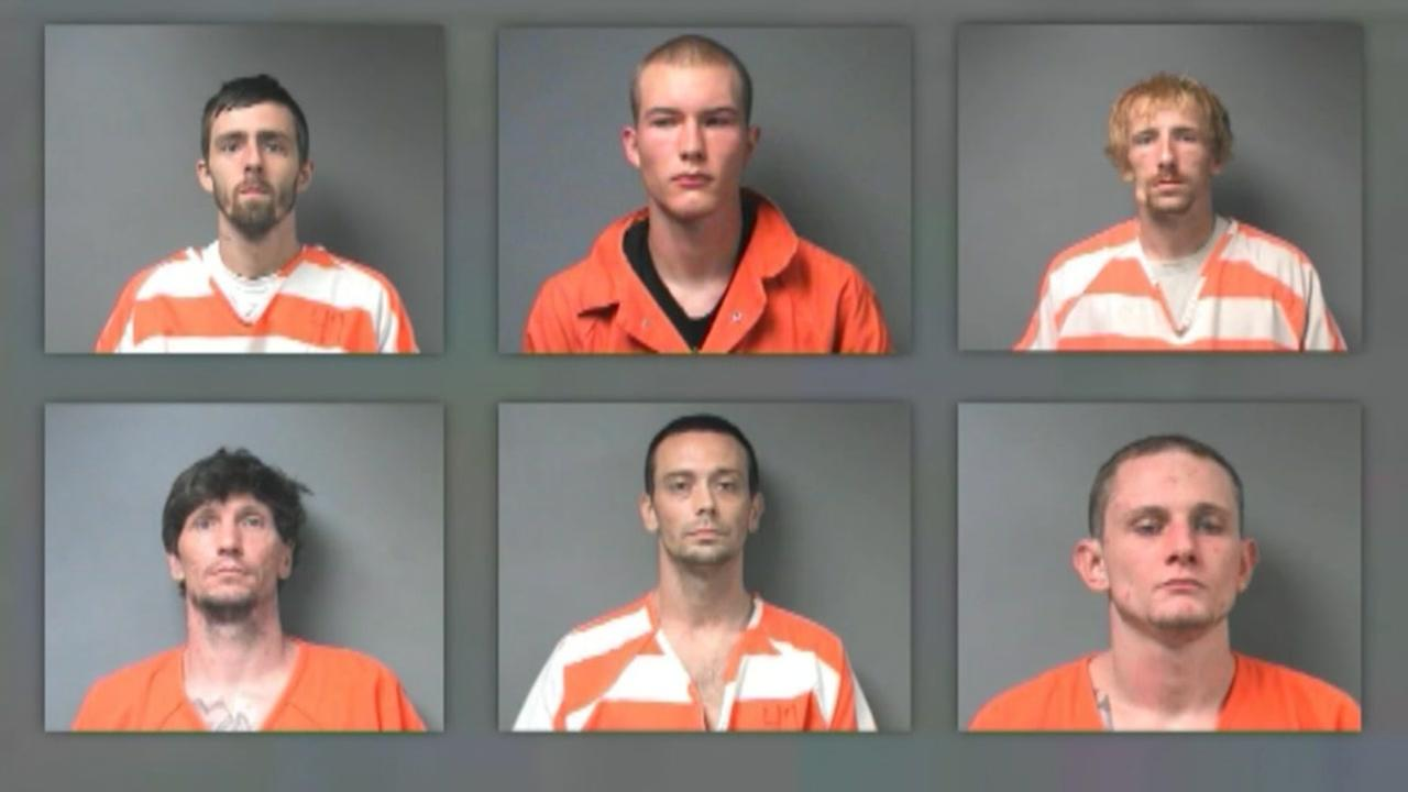 10 inmates recaptured after 12 escape Alabama jail