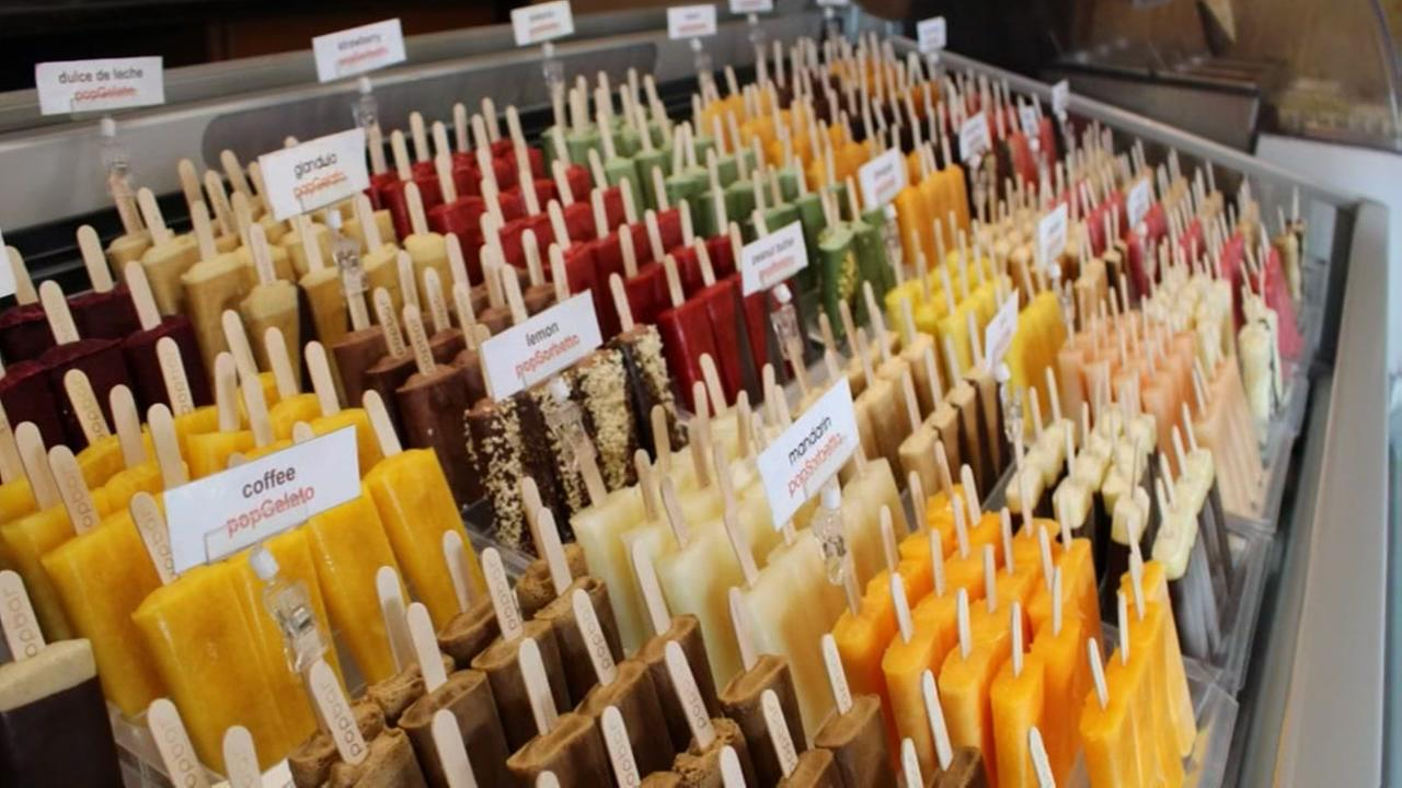 Gelato on a stick! New dessert shop pops up in Pearland