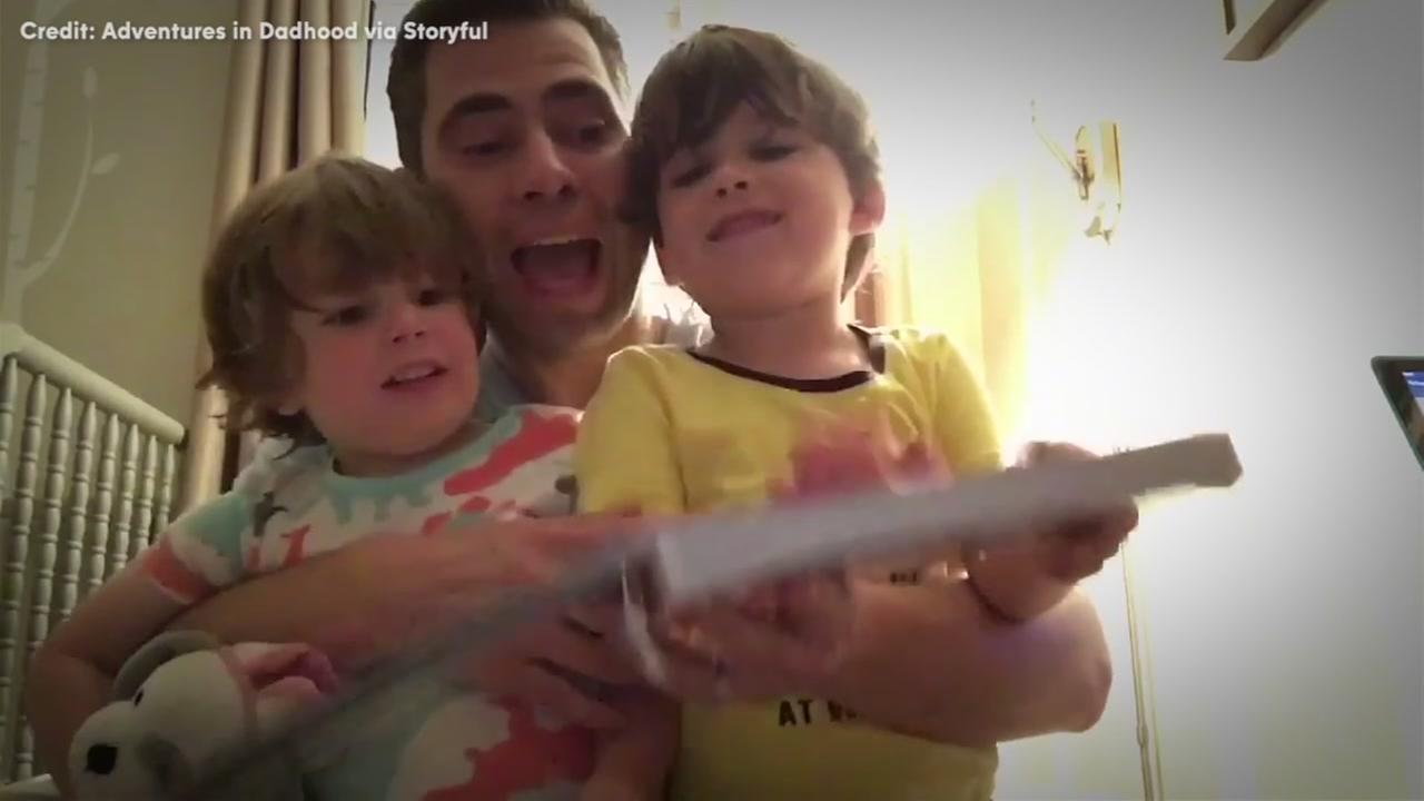 Listen to dad rap bedtime stories for his kiddos
