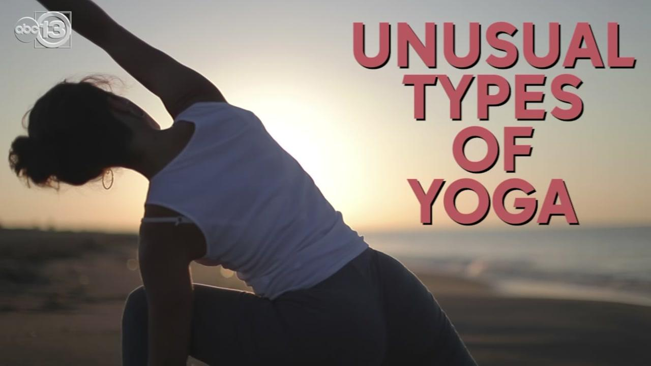 See a few types of yoga that are a little out of the ordinary