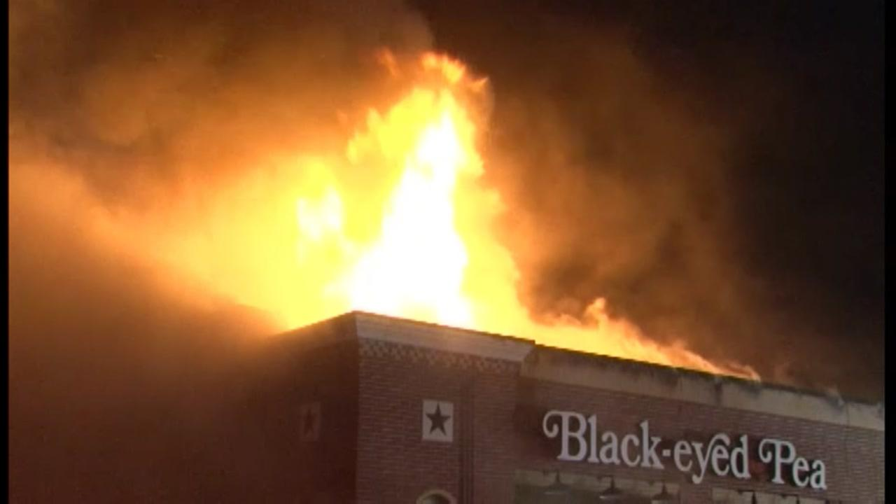 Former Harris Co. restaurant destroyed by fire.