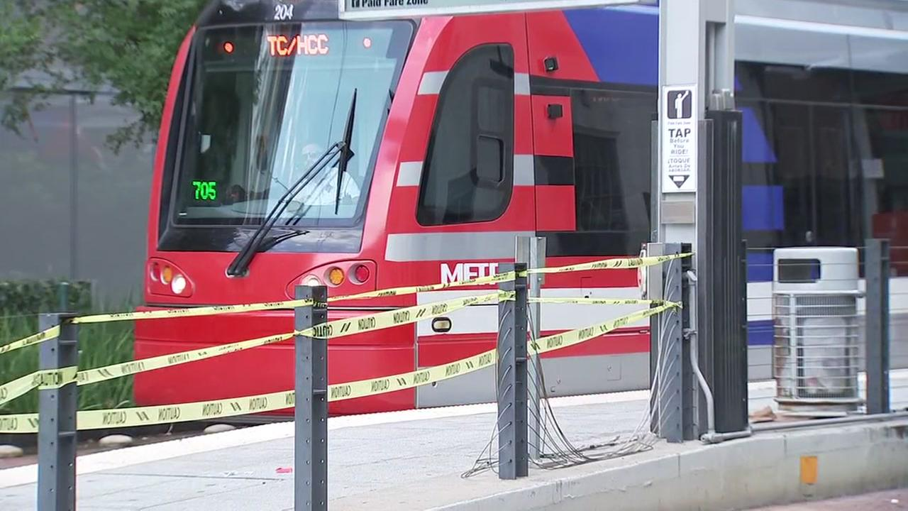 METRORail hits man