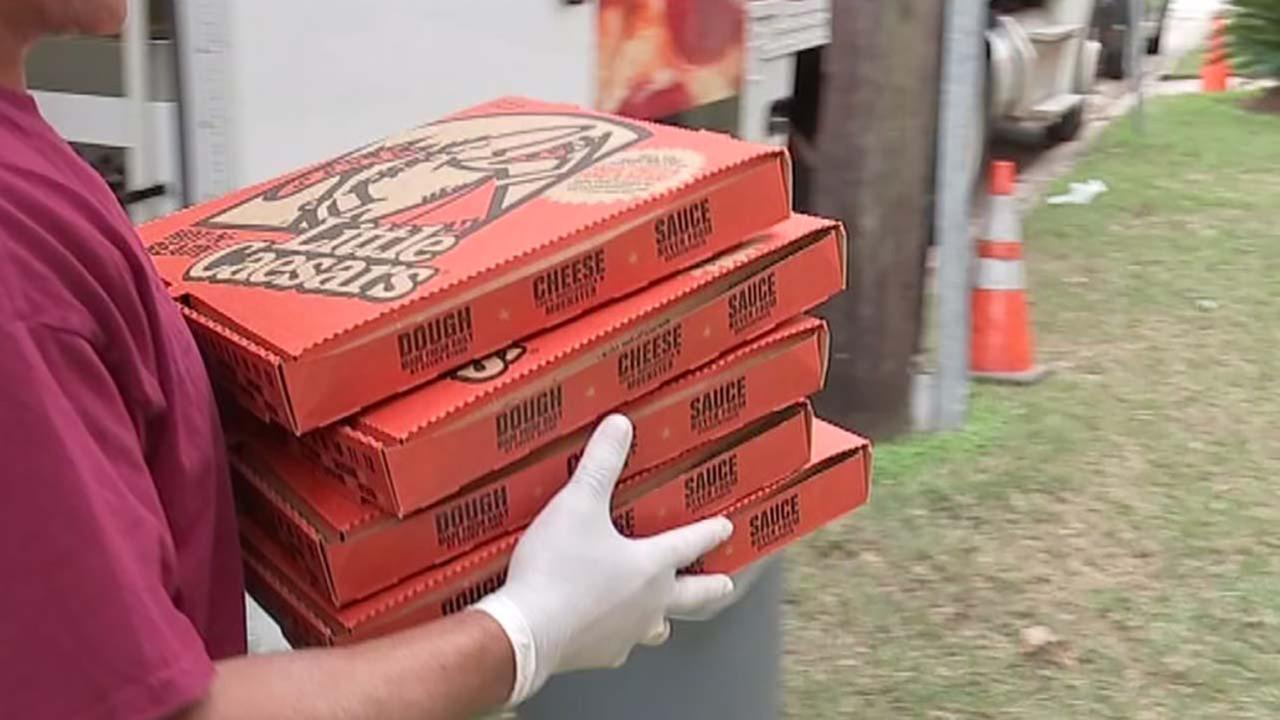 Little Caesars Pizza testing automated service