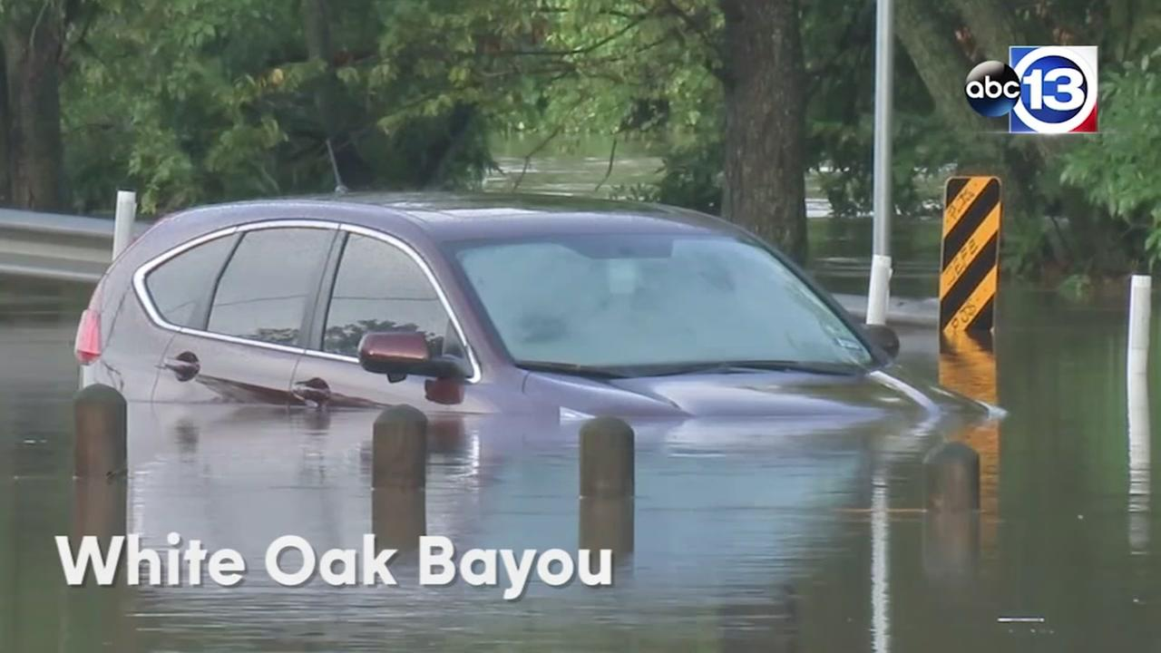 See areas hit hardest by the flash flood