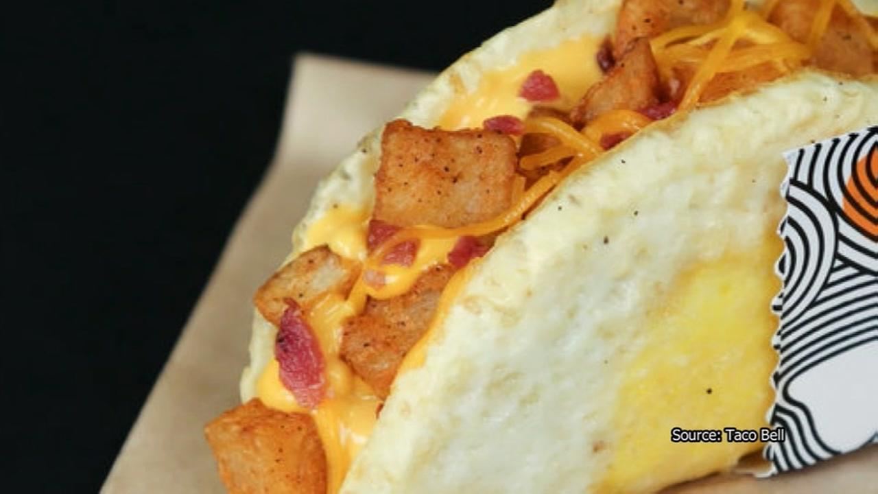 Taco Bell rolling out new Naked Egg Taco