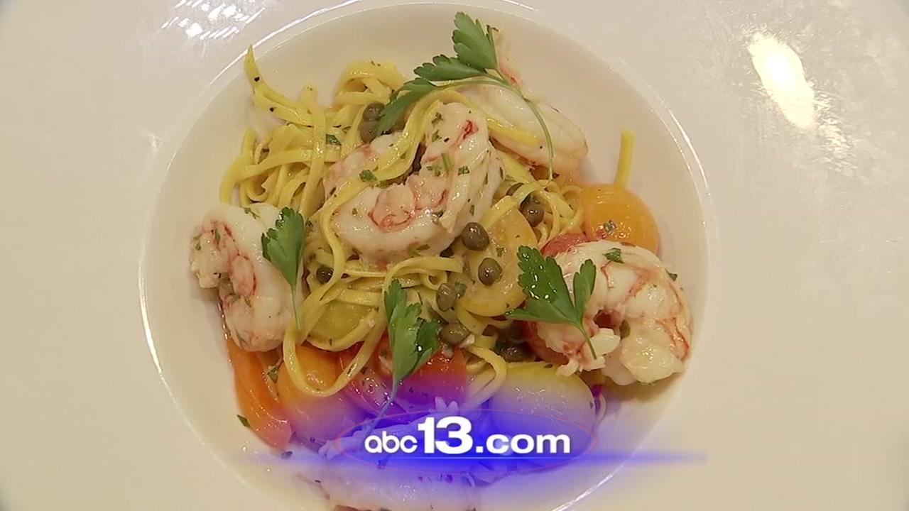 Lets Eat: Tagliolini agli scampi from Taverna