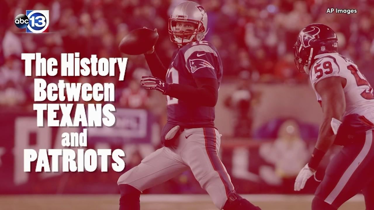 The history between the Texans and Patriots