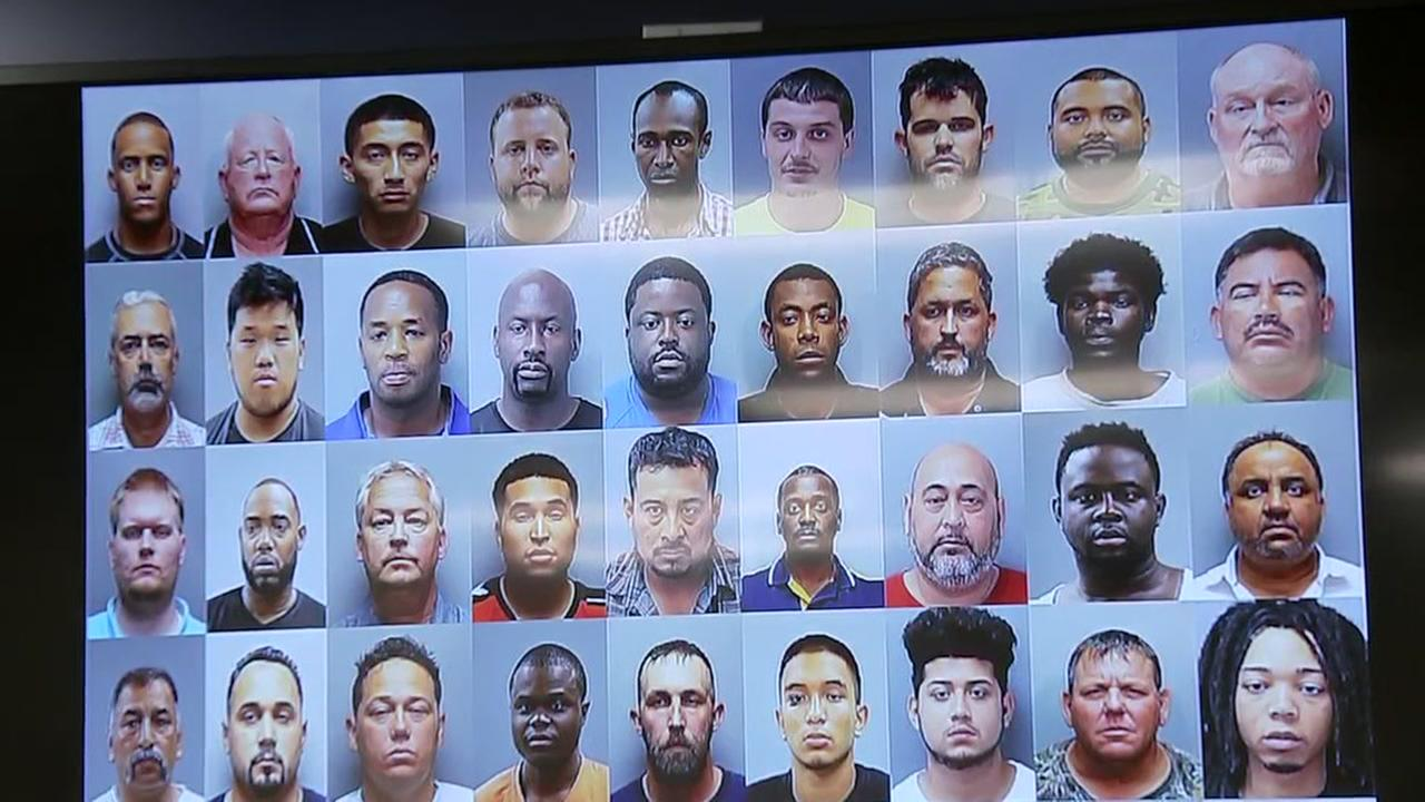 97 people arrested in sex trafficking crackdown in Harris County