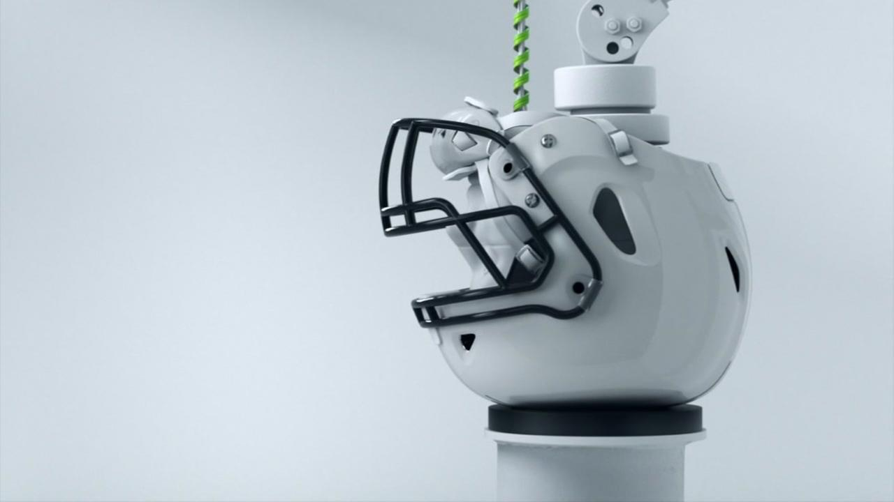 New Texans helmet aims to make the game safer