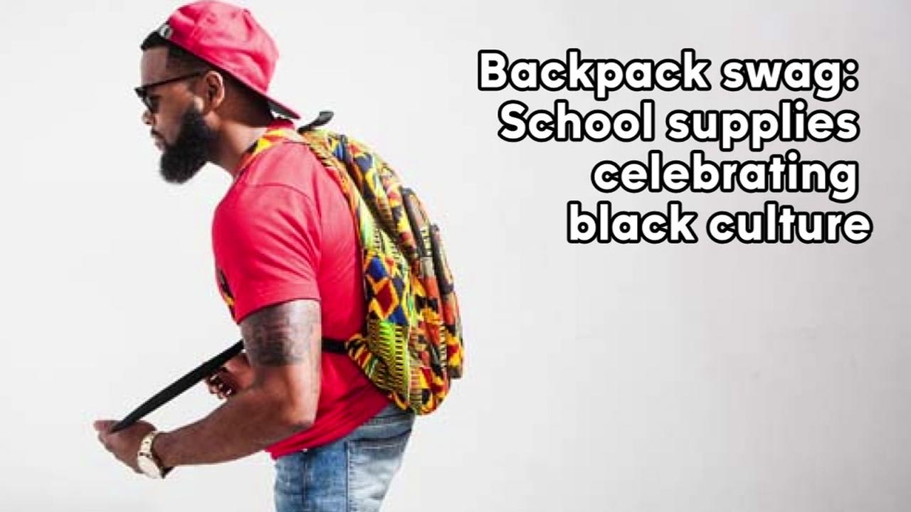 Backpack swag: School supplies celebrating black culture