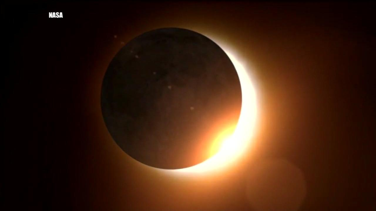 Whens the next total solar eclipse visible from Texas?