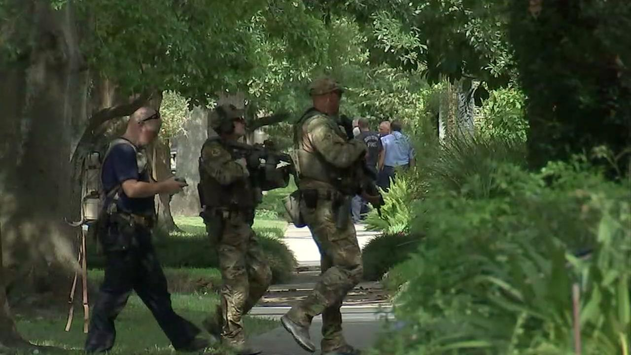 FBI, ATF raid in southwest Houston to continue into Monday