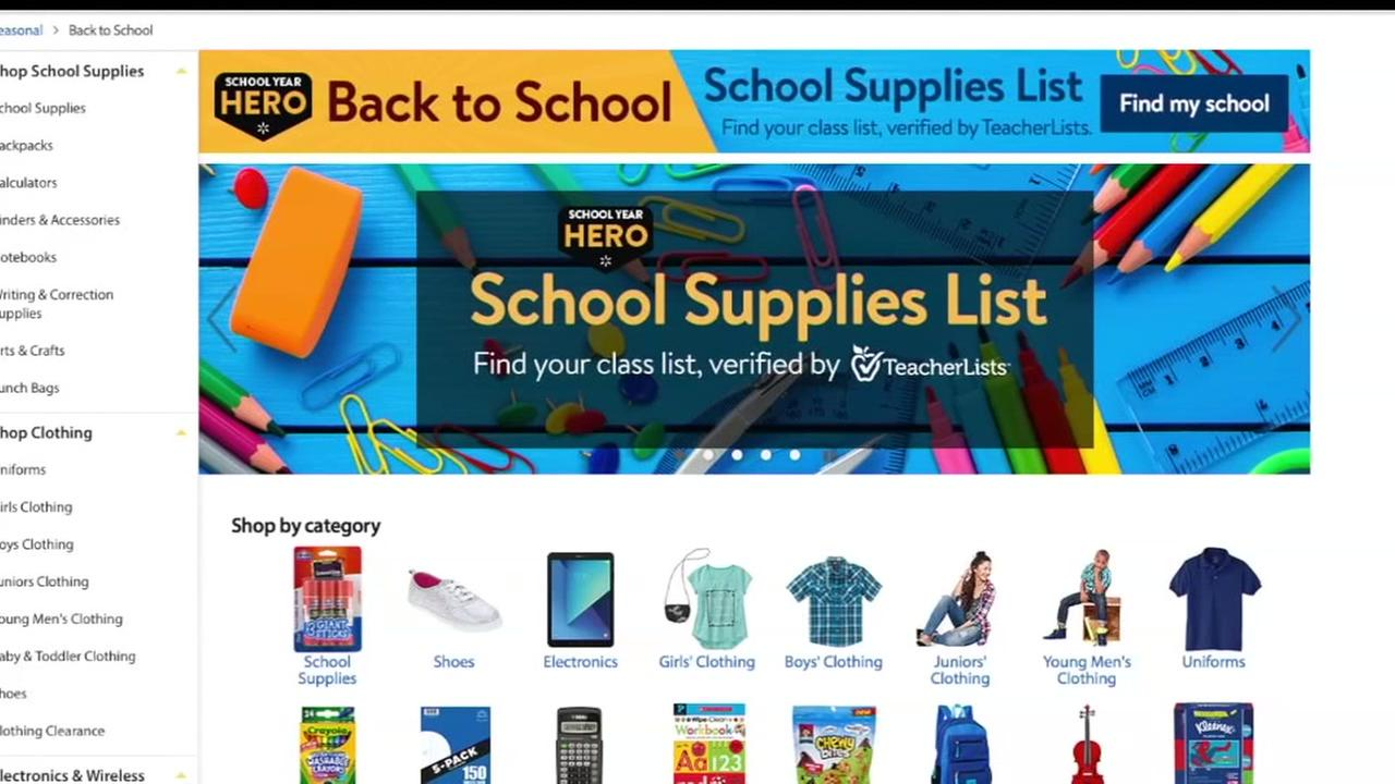 An online shopping back to school showdown between Amazon and Walmart: Which will save you more money?