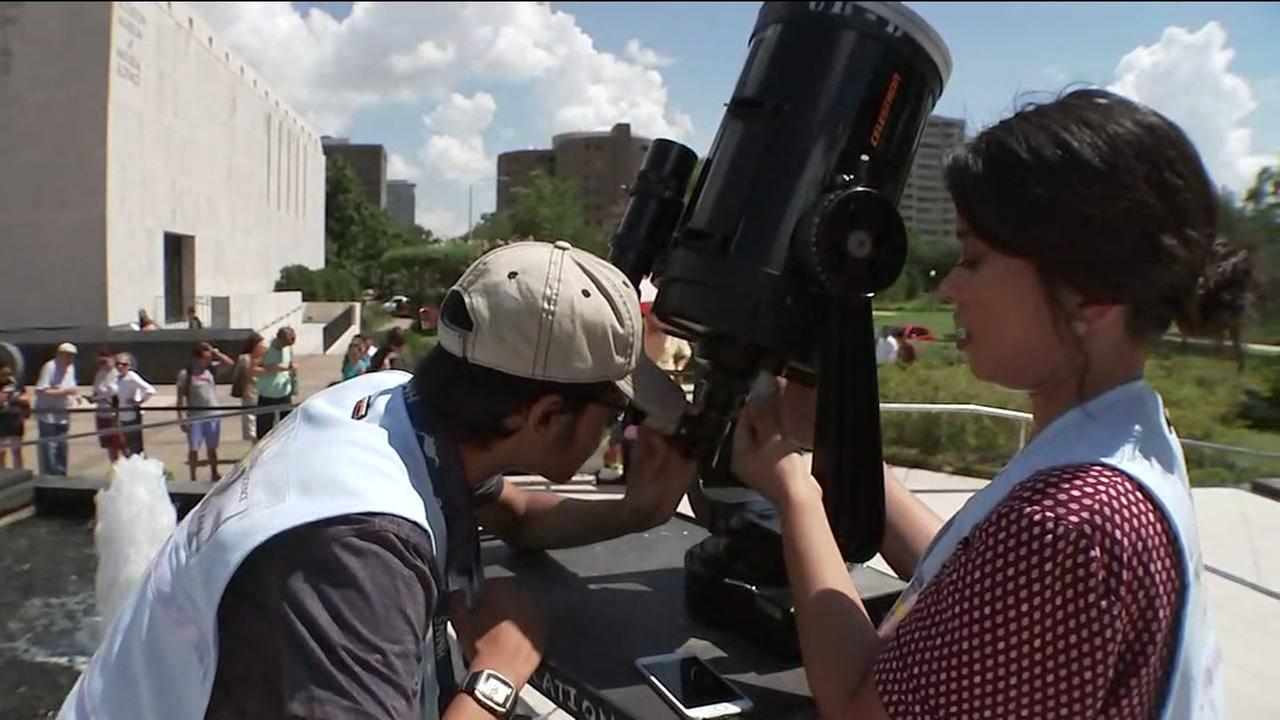 Preps underway for eclipse watched at HMNS