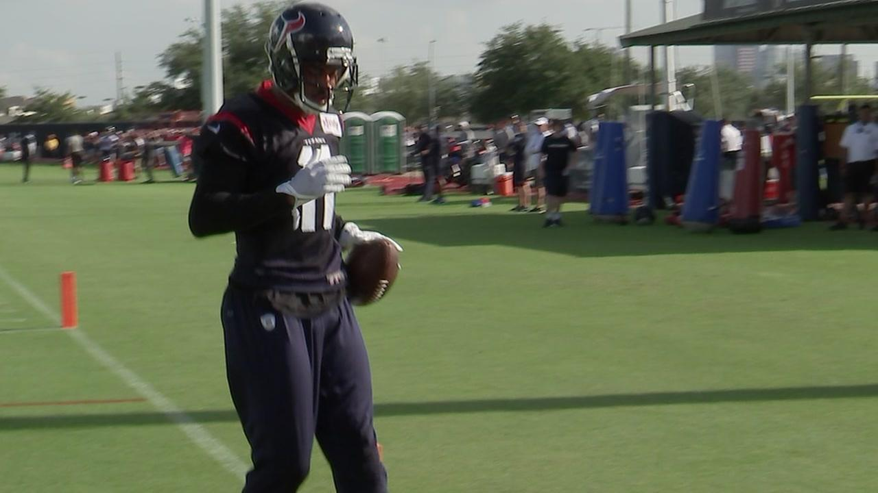 Texans open camp