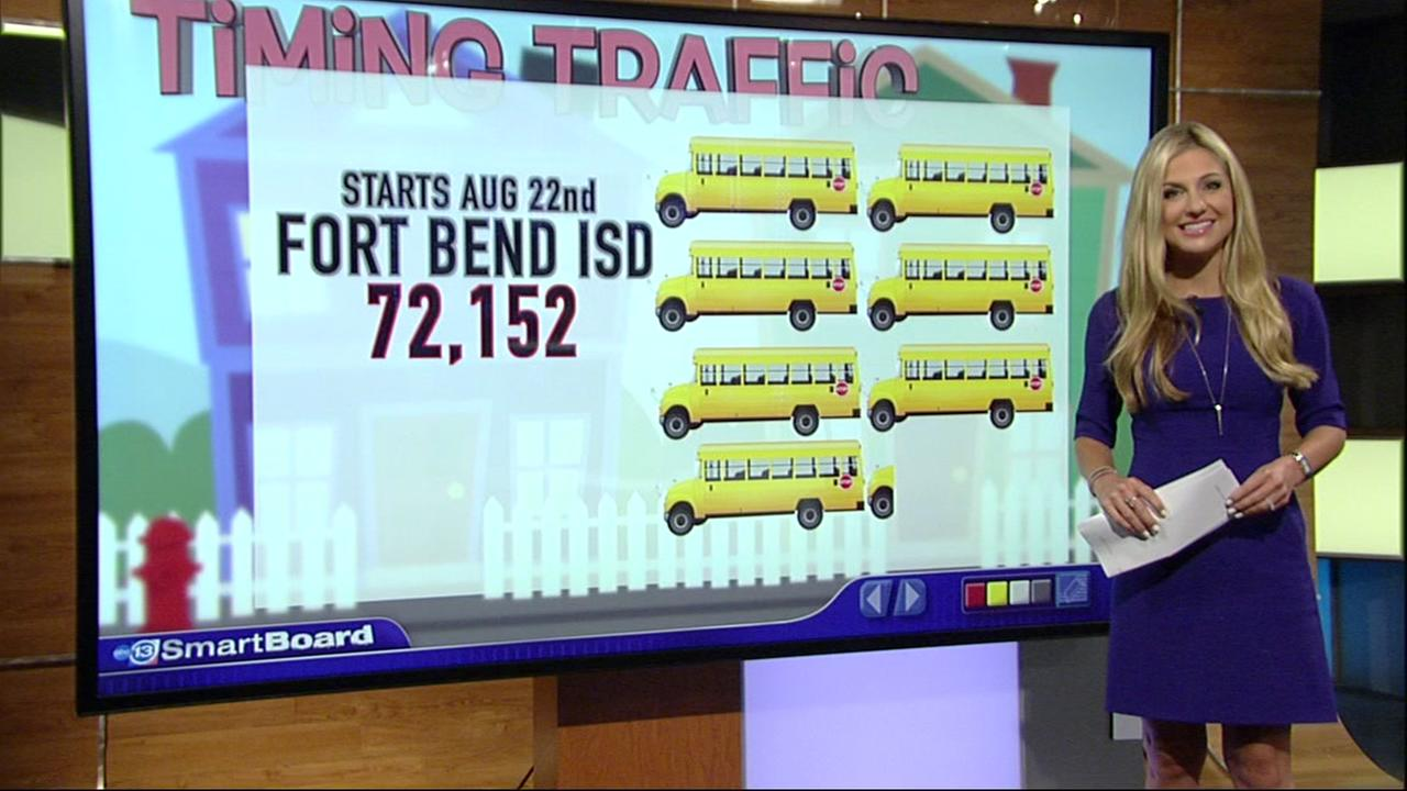 Multiple back to school start dates help ease traffic