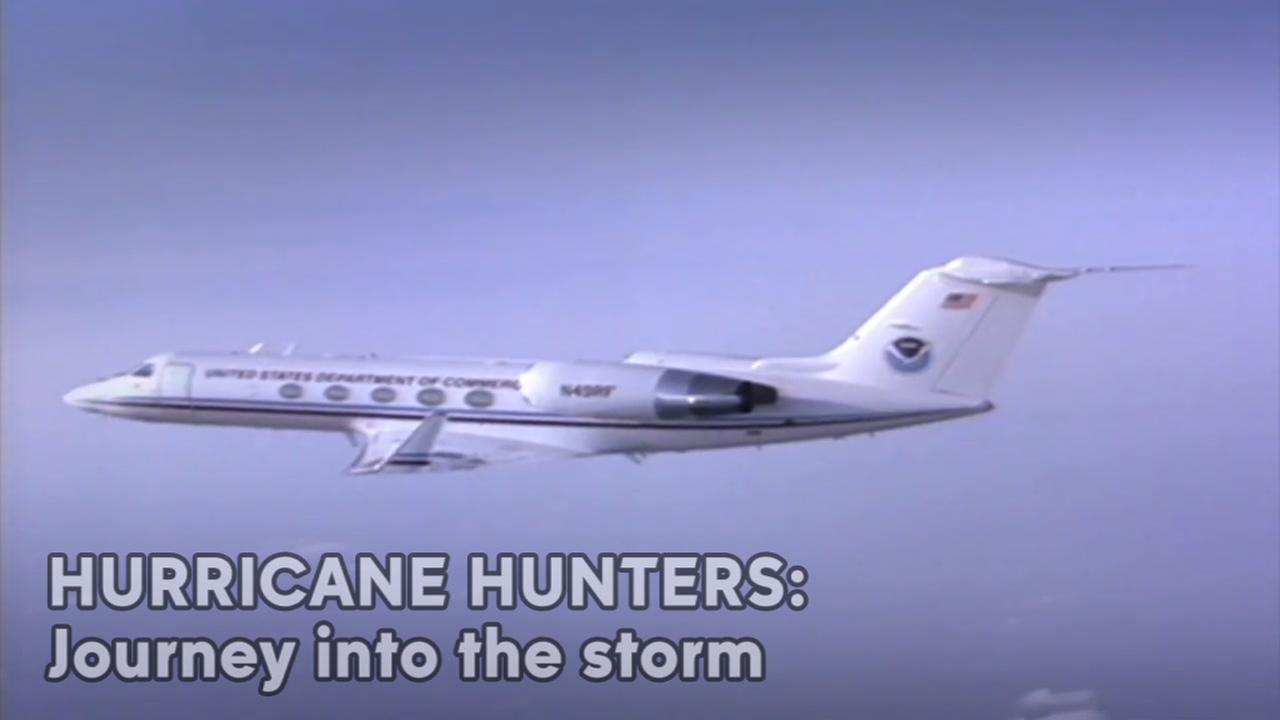 Journey into a hurricane with NOAA