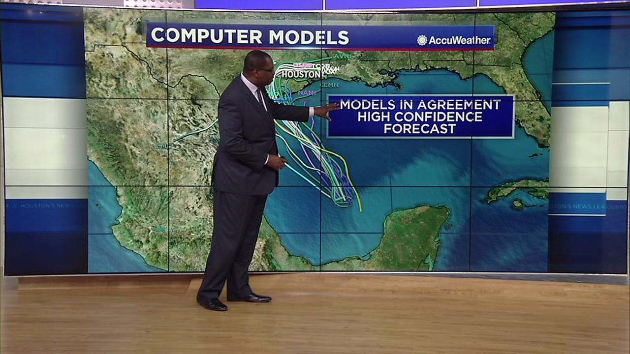 What the computer models for tropical weather mean