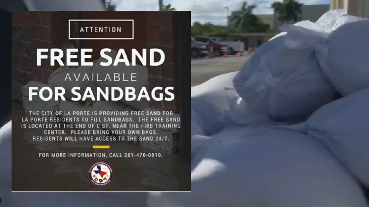 La Porte offering free sand to its residents