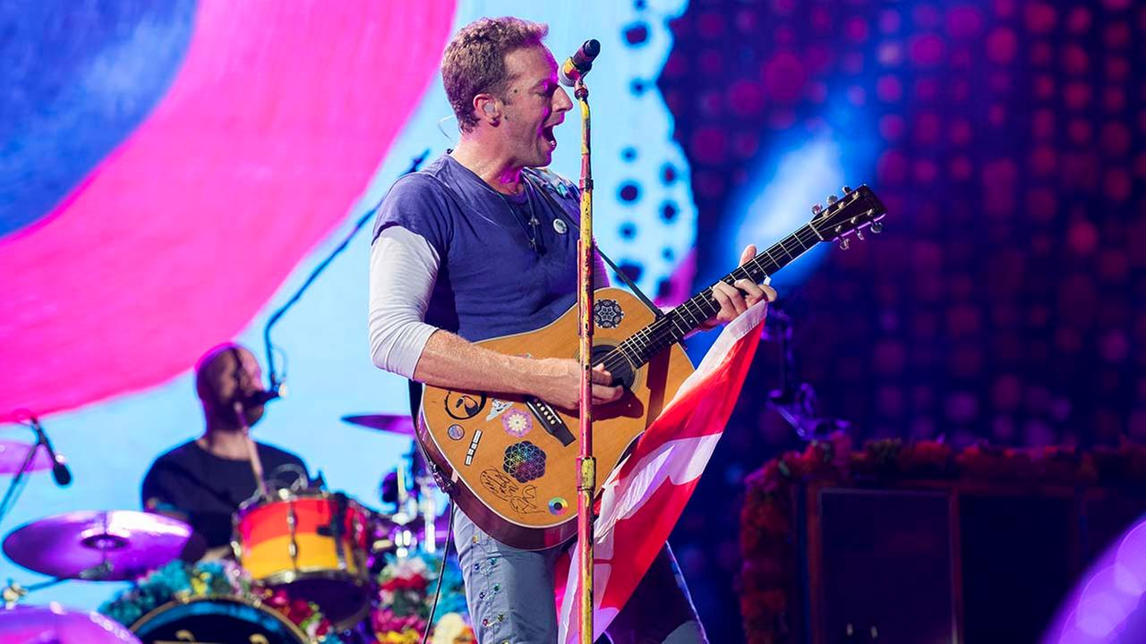 Coldplay show at NRG stadium postponed due to Hurricane Harvey