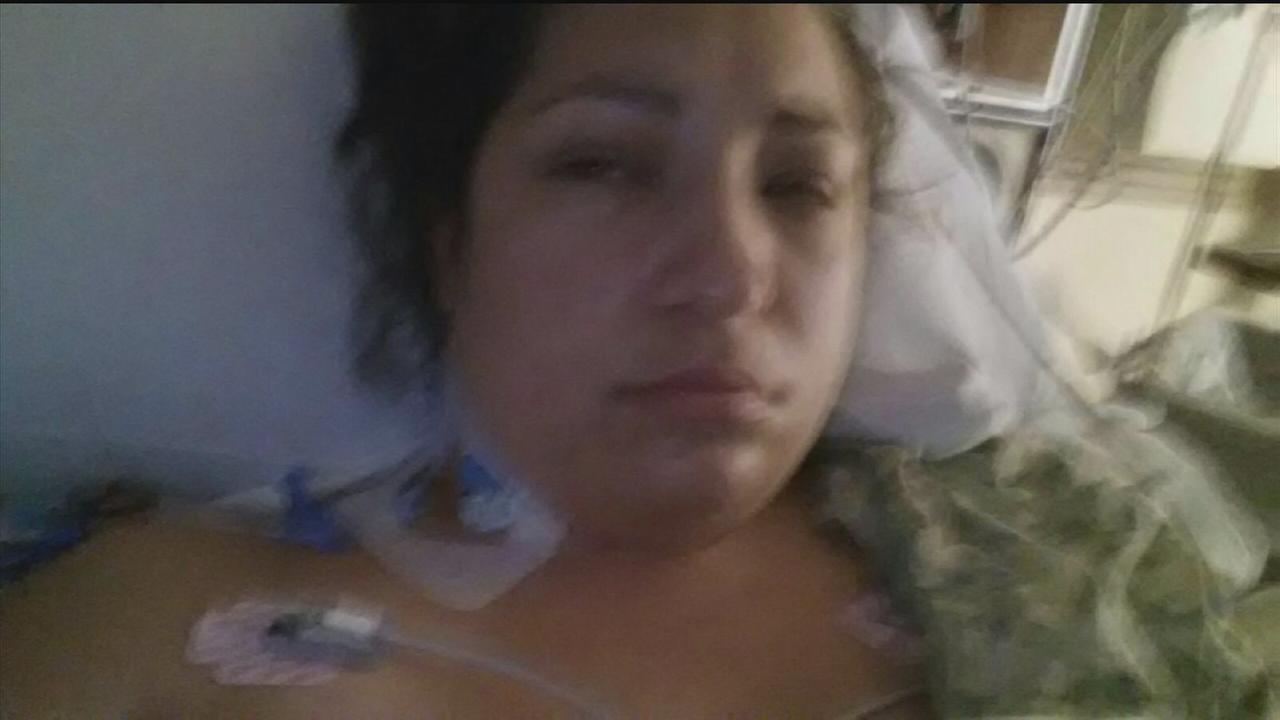 Woman contracts flesh eating bacteria in Galveston