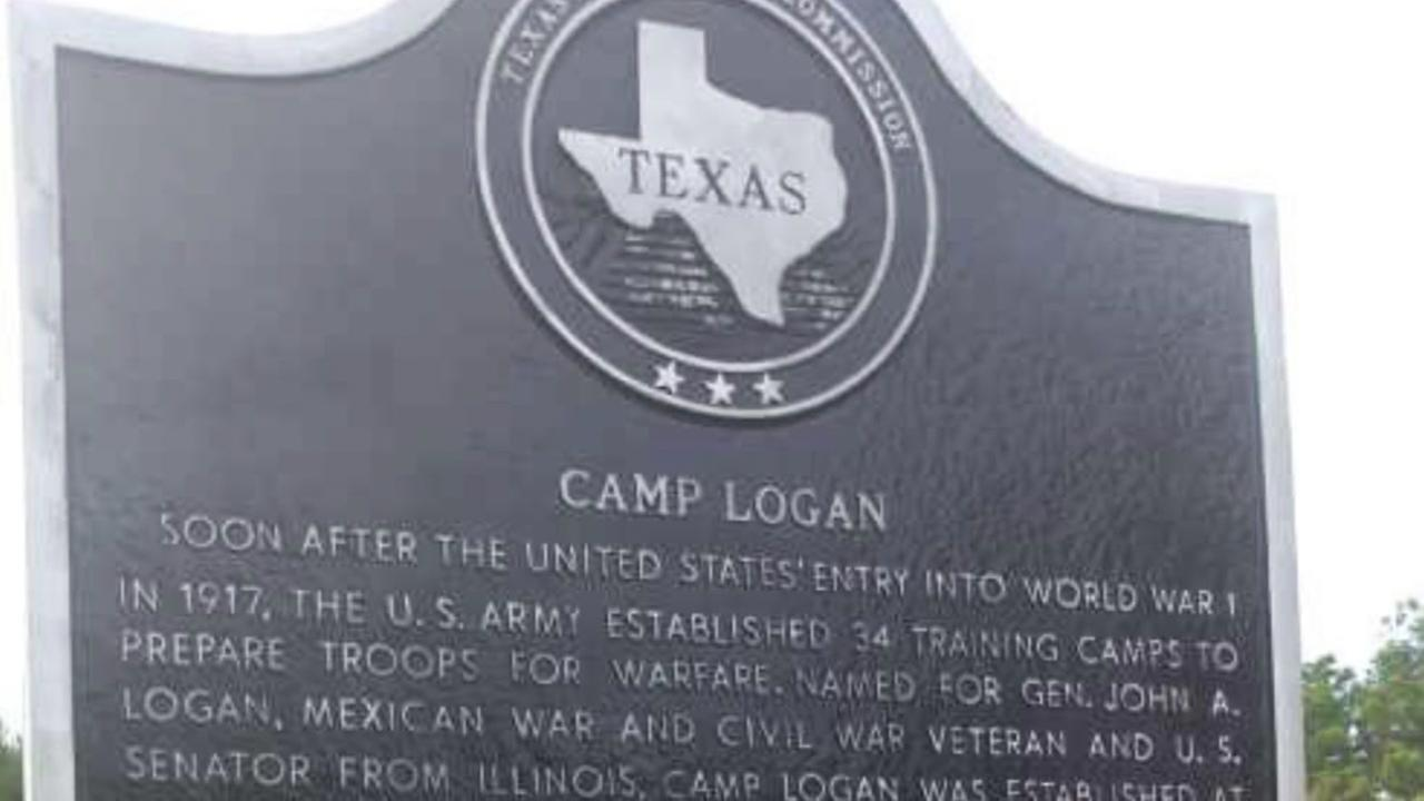 Camp Logan marker vandalism opens old wounds