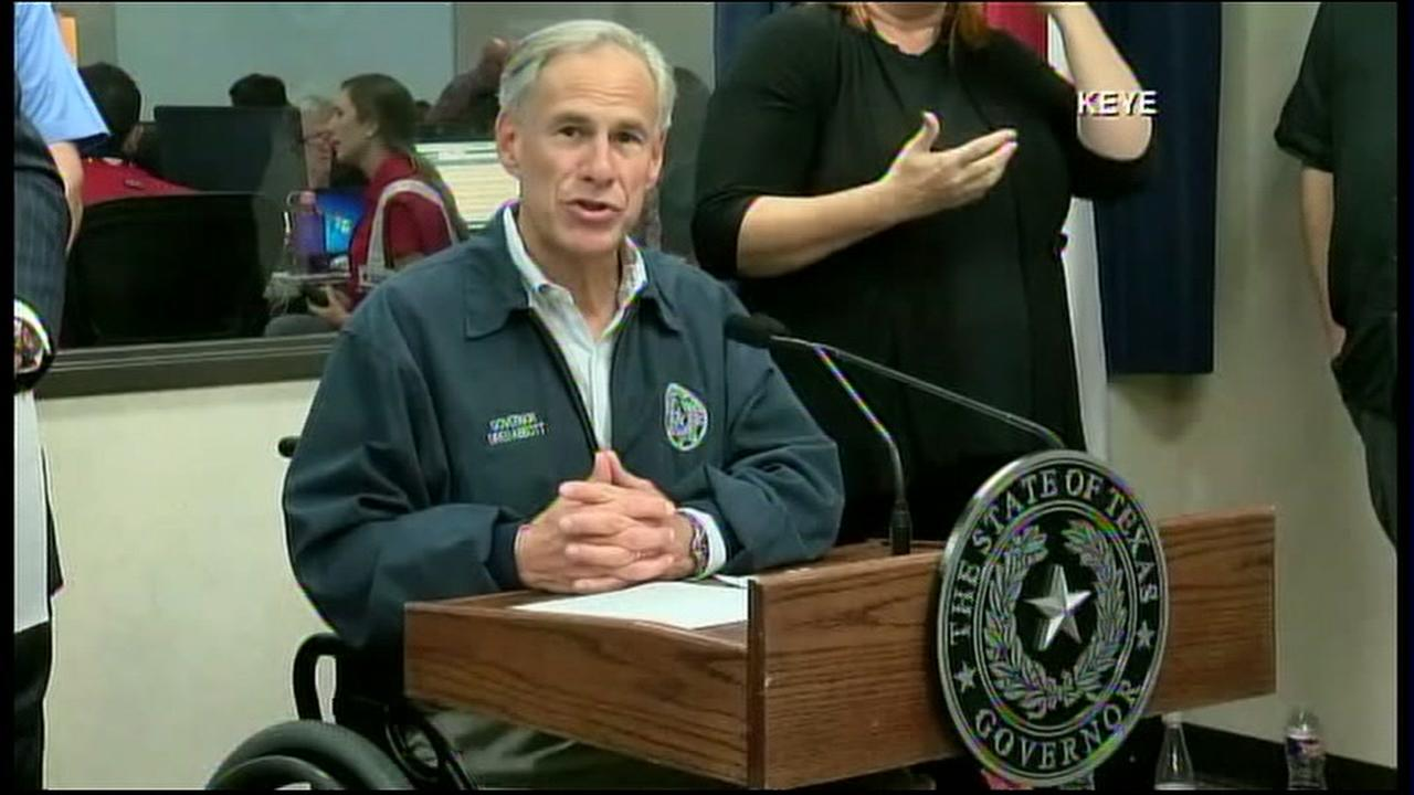 Gov. Abbott address Texas ahead of Harvey