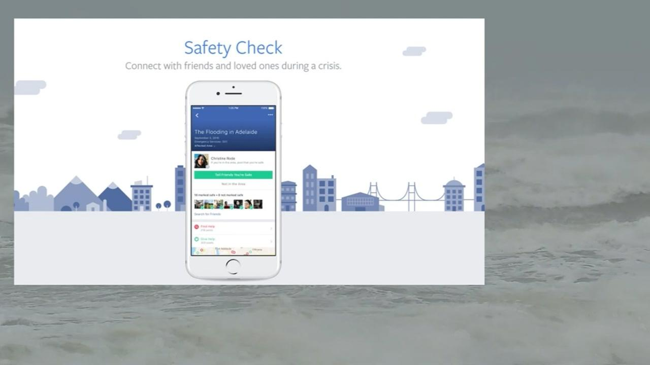 Facebook activates Safety Check
