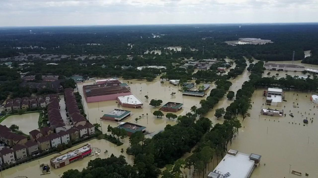 Drone footage of Kingwood