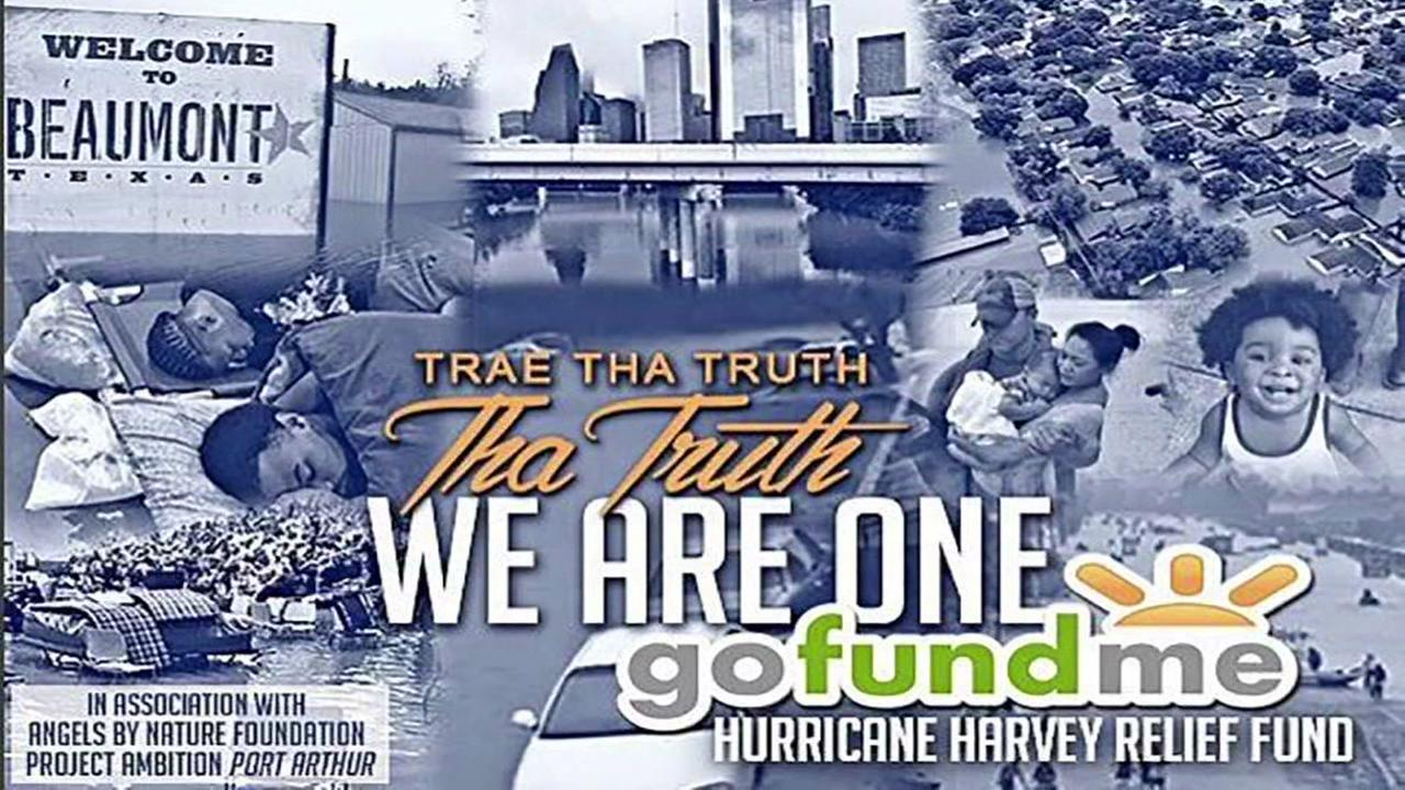 Trae Tha Truth starts GoFundMe account for Harvey victims