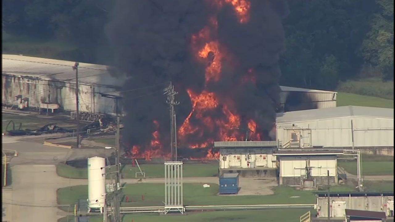 Arkema plant explodes after power loss